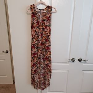 Ambiance Brand Floral High Low Dress w/ Shorts
